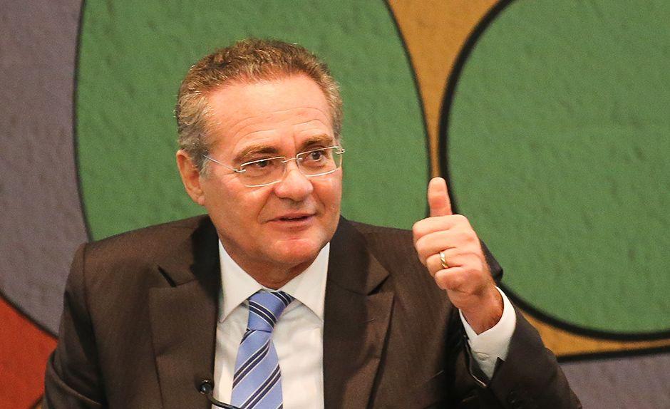 Renan Calheiros propôs a criação de uma Autoridade Fiscal Independente para fiscalizar os gastos do Planalto / Sérgio Lima/Folhapress