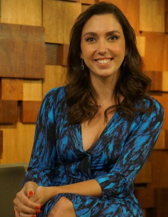 A jornalista Marina Machado /