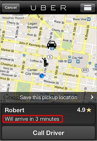 Aplicativo conecta passageiros a motoristas profissionais / reprodução