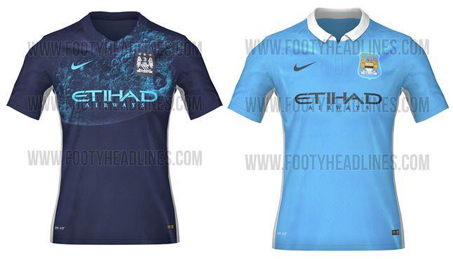 uniforme manchester city 2015