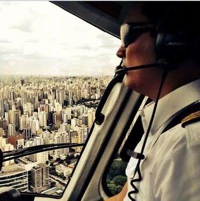 Thomaz Alckmin era piloto profissional / Reprodução/Instagram