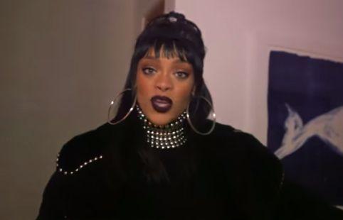 Rihanna acorda apresentador / Reprodução/YouTube