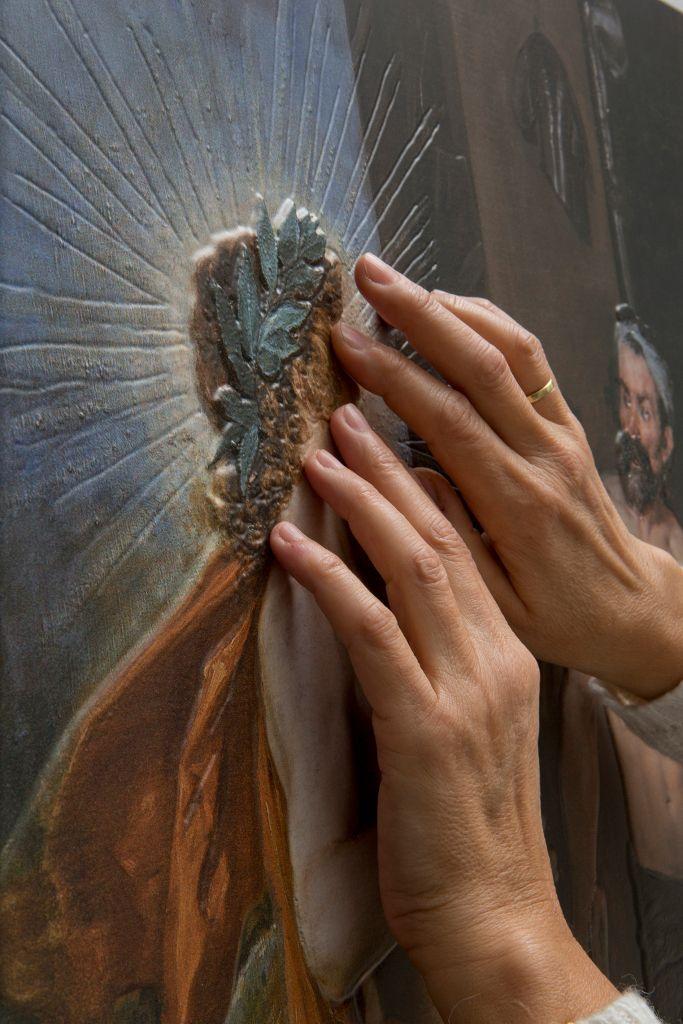 Quadro de Diego Velázquez é uma das seis obras que podem ser tocadas no Museu do Prado / Museu Nacional do Prado