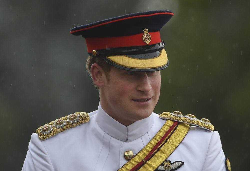 Harry se integra ao exército australiano / Lukas Coch/AFP