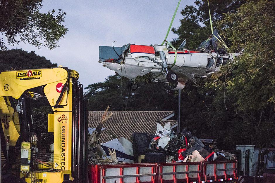 Destroços do helicóptero passarão por perícia / Futura Press/Folhapress