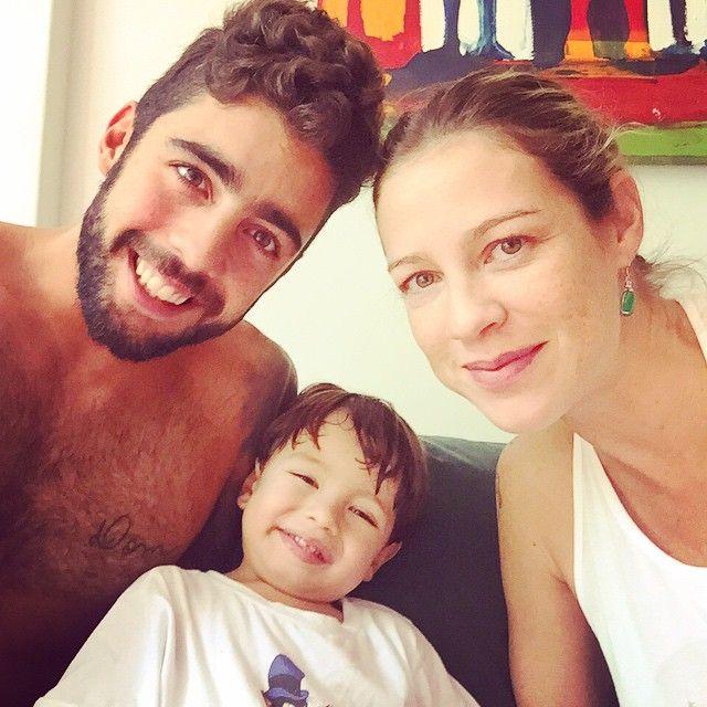 Luana Piovani e Pedro Scooby posam com o primogênito / Divulgação/Instagram