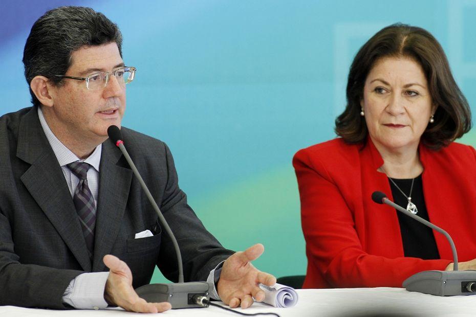 Levy e Mirian anunciam estudos sobre privatização da Caixa Seguros / Beto Barata/Folhapress