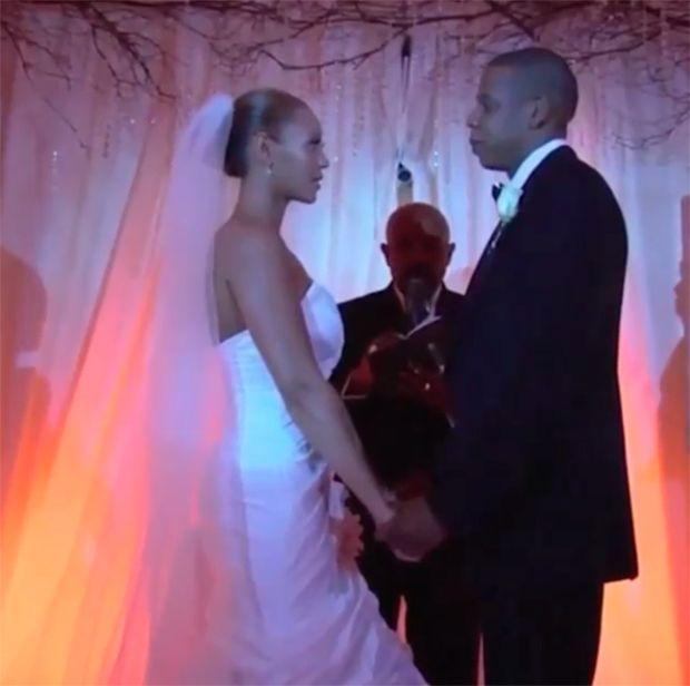 Jay-Z mostra momento dos votos em seu casamento / Divulgação/Instagram