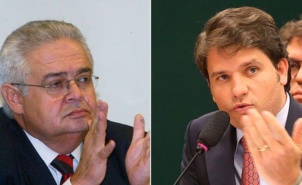ex-presidente do PP Pedro Corrêa e ex-deputado federal Luiz Argôlo