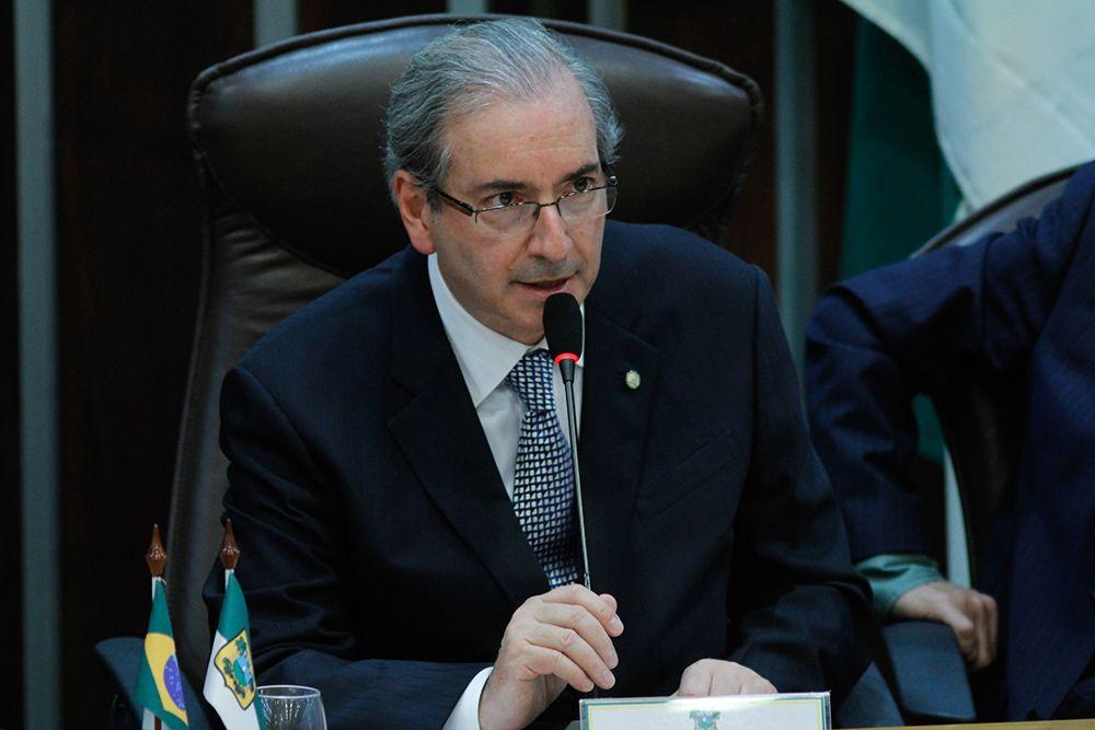 Eduardo Cunha disse que o PMDB não vai aceitar humilhações por parte do PT / Nuno Guimarães/Folhapress