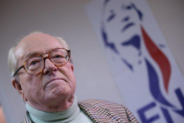 Le Pen é fundador do partido de extrema-direita Frente Nacional / Kenzo Tribouillard/AFP