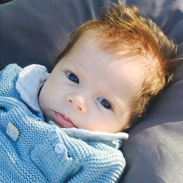 Sasha é filho de Shakira com Gerard Piqué / Divulgação/Instagram