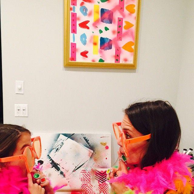Katie Holmes brinca coma filha Suri Cruise / Divulgação/Instagram