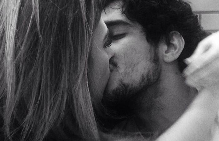 Tatá e Renato Góes: romance no ar / Divulgação/Instagram