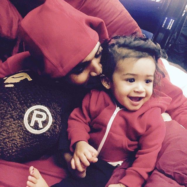 Chris Brown divulga primeira foto com a filha / Divulgação/Instagram