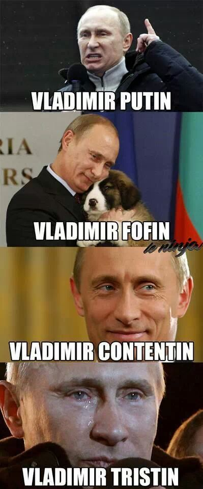 Meme de Vladimir Putin feita pelo site LeNinja / Reprodução/LeNinja