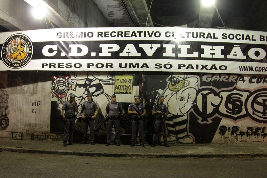 Quadra de torcida organizada foi local da última chacina em São Paulo / Brazil Photo Press/Folhapress