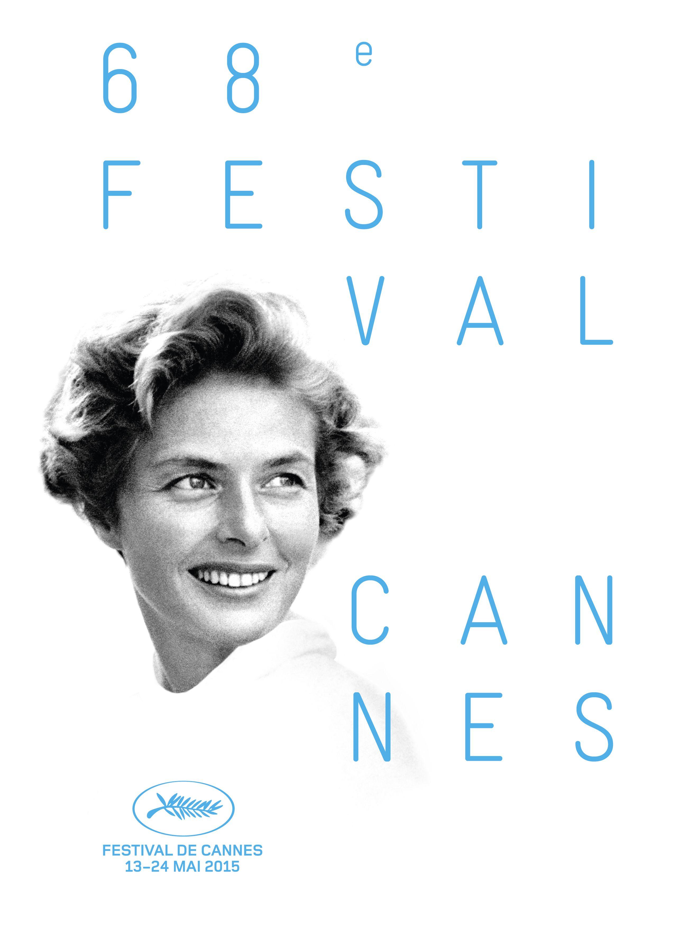 Cartaz oficial da 68ª edição do Festival de Cannes / David Seymour/Festival de Cannes/AFP