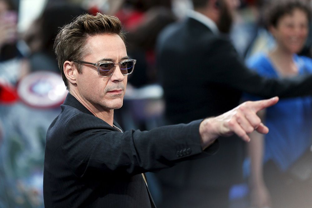 Robert Downey Jr. fica irritado e abandona entrevista / Stefan Wermuth/AFP