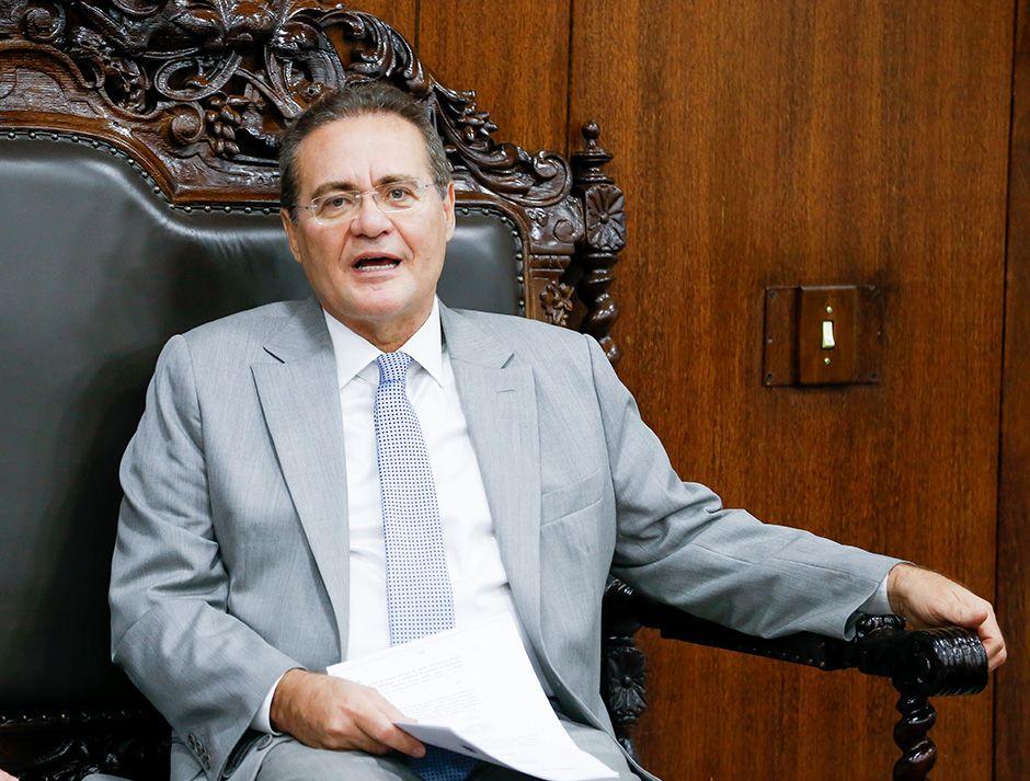 O presidente do Congresso, Renan Calheiros / Pedro Ladeira/Folhapres