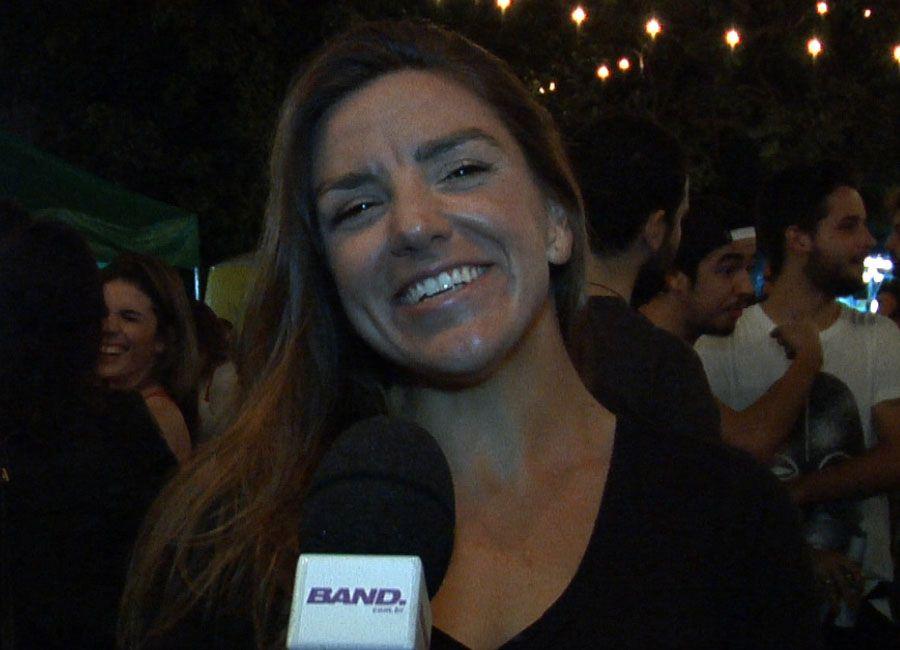 Em festa da Trip TV, Autumn Sonnichsen fala sobre seus ensaios para a Trip Girl / Reprodução