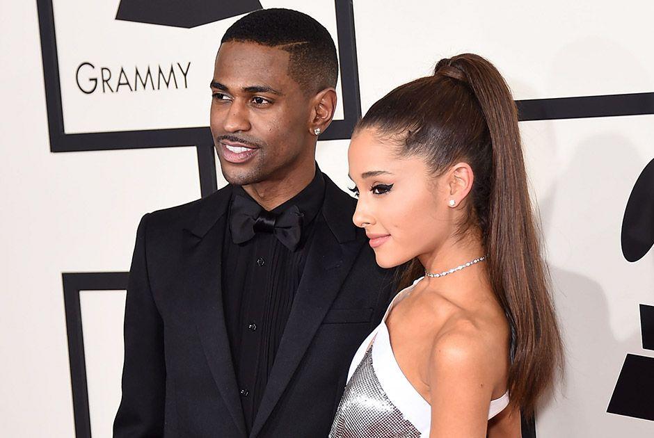 Big Sean e Ariana Grande em evento / DFree/Shutterstock