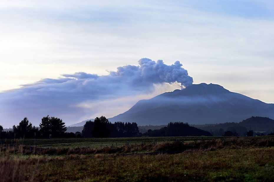 Cinzas do vulcão chegaram ao Sul do Brasil / MARTIN BERNETTI / AFP
