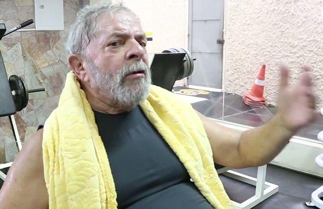 Lula Aparece Suado Na Academia Em Vídeo Motivacional
