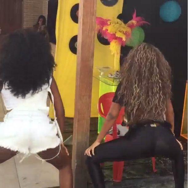 Ludmilla mostra o seu rebolado em vídeo / Divulgação/Instagram