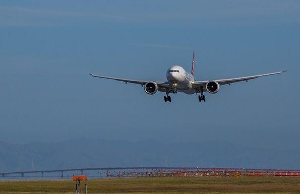 Avião teve falha no motor / Turkish Airlines/Divulgação