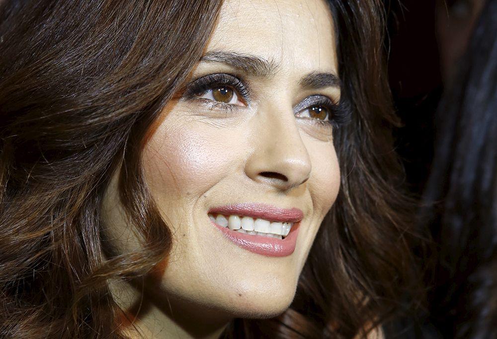 Salma Hayek concede entrevista à Reuters em Beirute / Mohamed Azakir/Reuters