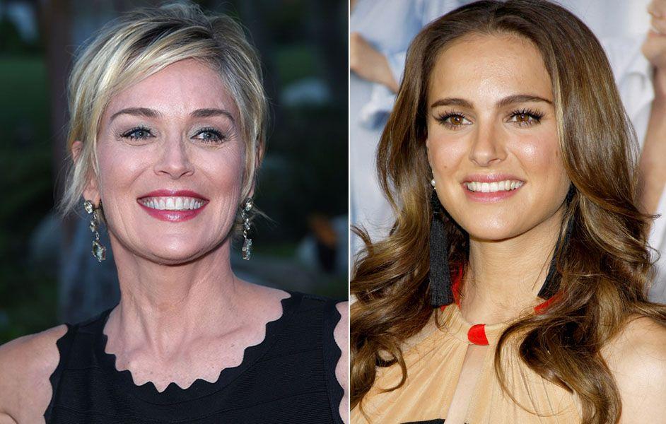 Sharon Stone e Natalie Portman irão copresidir evento beneficente  / DFree e e Tinseltown/Shutterstock.com