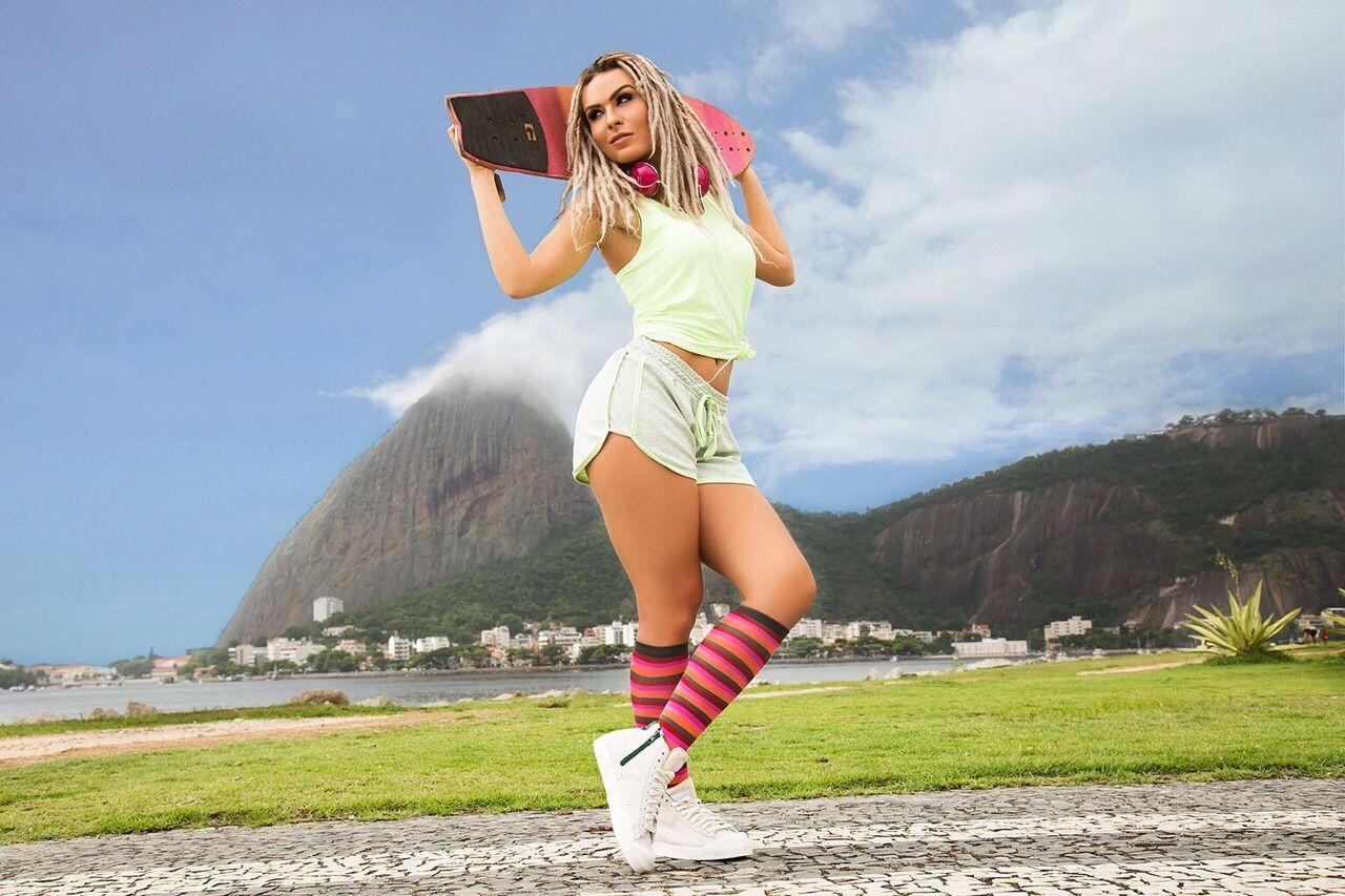 Mendigata faz ensaio fotográfico esportivo / Divulgação/Vini Antz/MF Models Assessoria