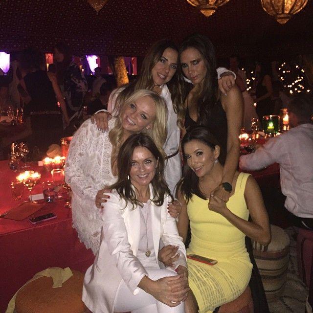 Victoria Beckham reencontra companheiras de Spice Girls / Divulgação/Instagram