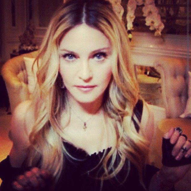 Madonna postou essa foto antes de começar a gravação do programa / Divulgação/Instagram