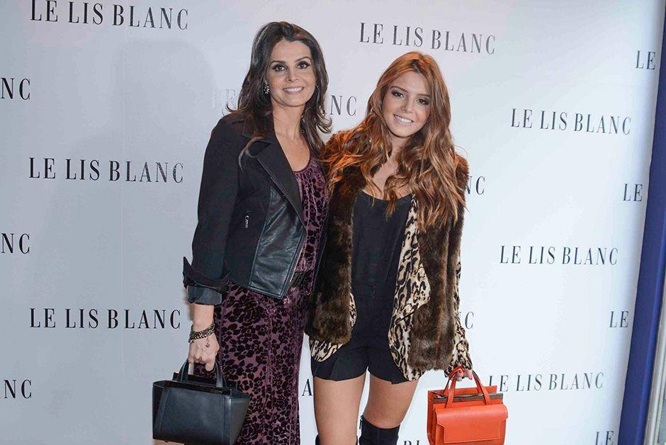 Giovana Lancellotti apareceu na companhia da sua mãe / Léo Franco/AgNews