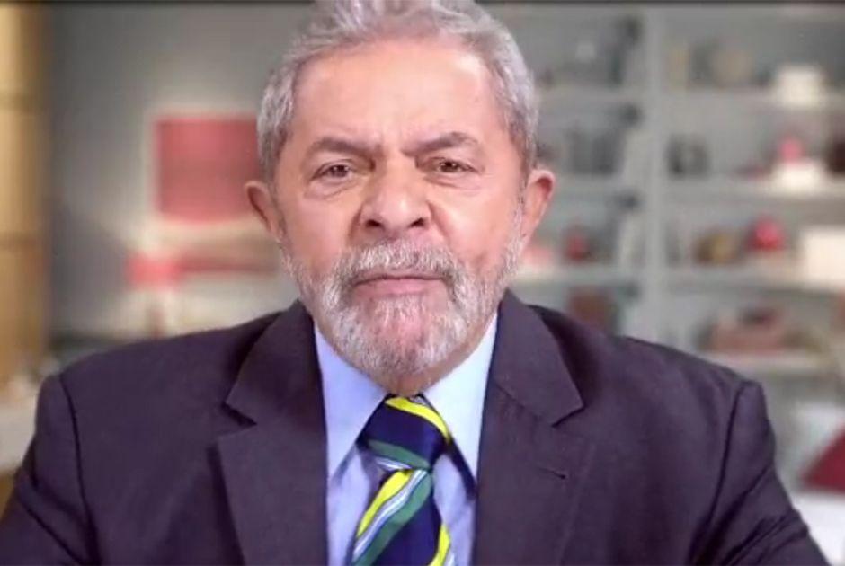 Lula durante o pronunciamento desta terça-feira (5) / Reprodução/YouTube