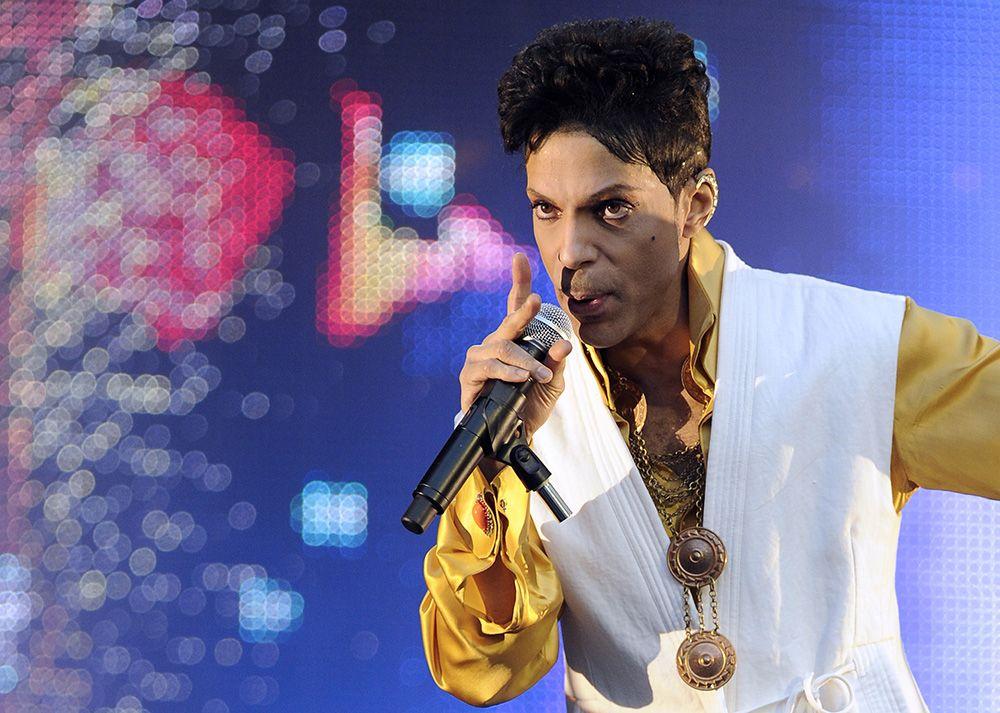 Prince afirmou que o show era para os fãs / Bertrand Guay/AFP