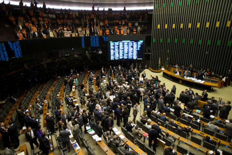 Câmara durante votação da Medida Provisória / Marcelo Camargo/ABr