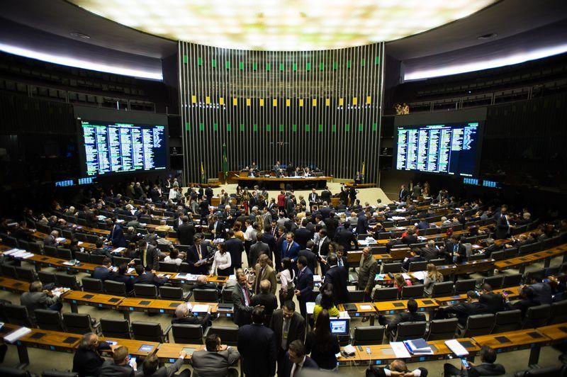 Câmara durante a votação da MP 665 / Marcelo Camargo/Agência Brasil
