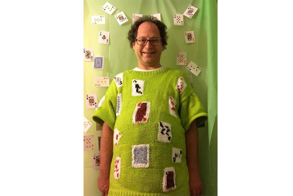 Conheça o tricô e as viagens Sam Barsky