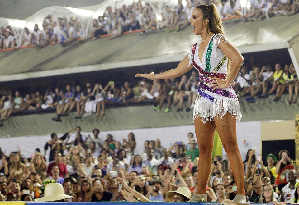 Ivete Sangalo foi a grande homenageada da agremiação