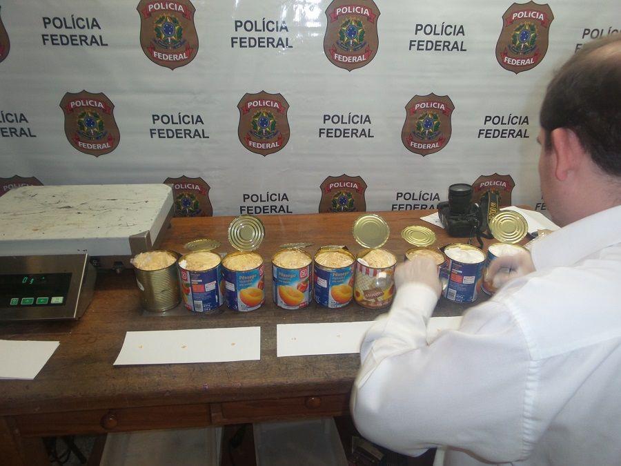 Preso foi levado ao presídio estadual onde permanecerá à disposição da Justiça / Divulgação Polícia Federal