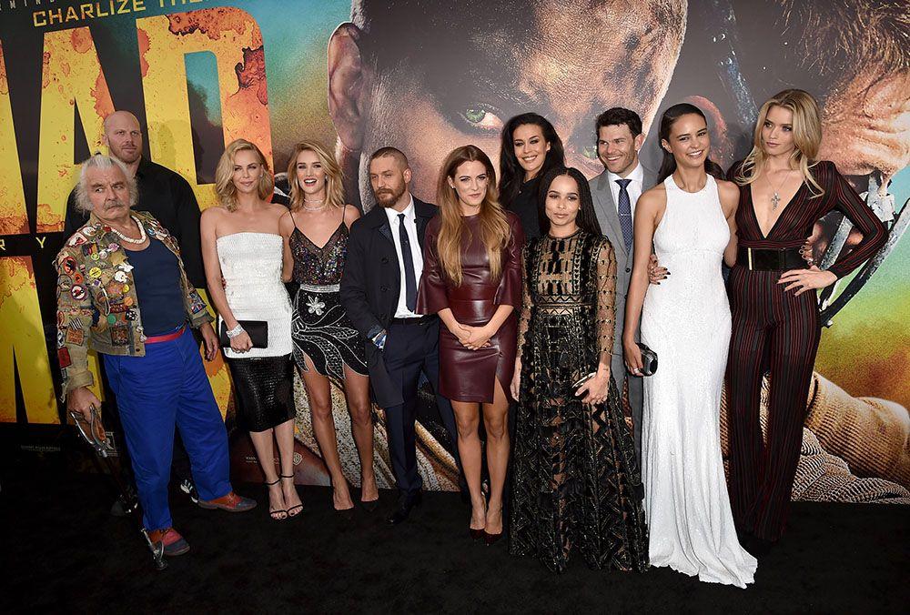 Elenco de Mad Max se reúne em première do filme / Kevin Winter/AFP