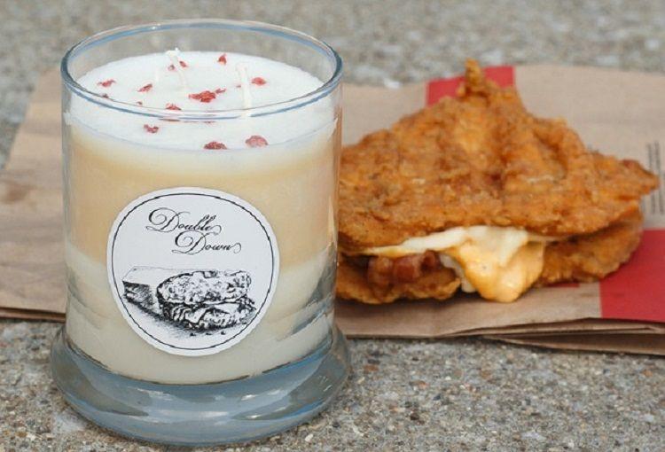 Site vende vela com sabor de lanche do KFC / Kentucky for Kentucky / Divulgação
