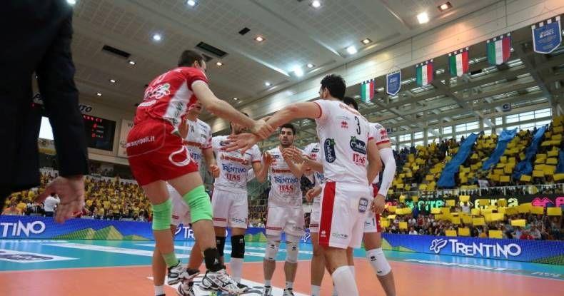 Trentino pode garantir o título nesta quarta-feira / Divulgação/Facebook