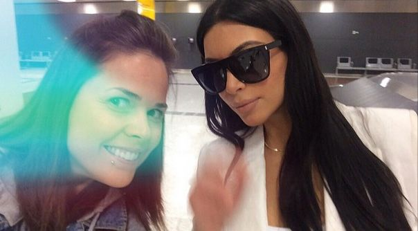 Kim Kardashian chegou ao Brasil neste domingo, dia 10 / Divulgação/Instagram