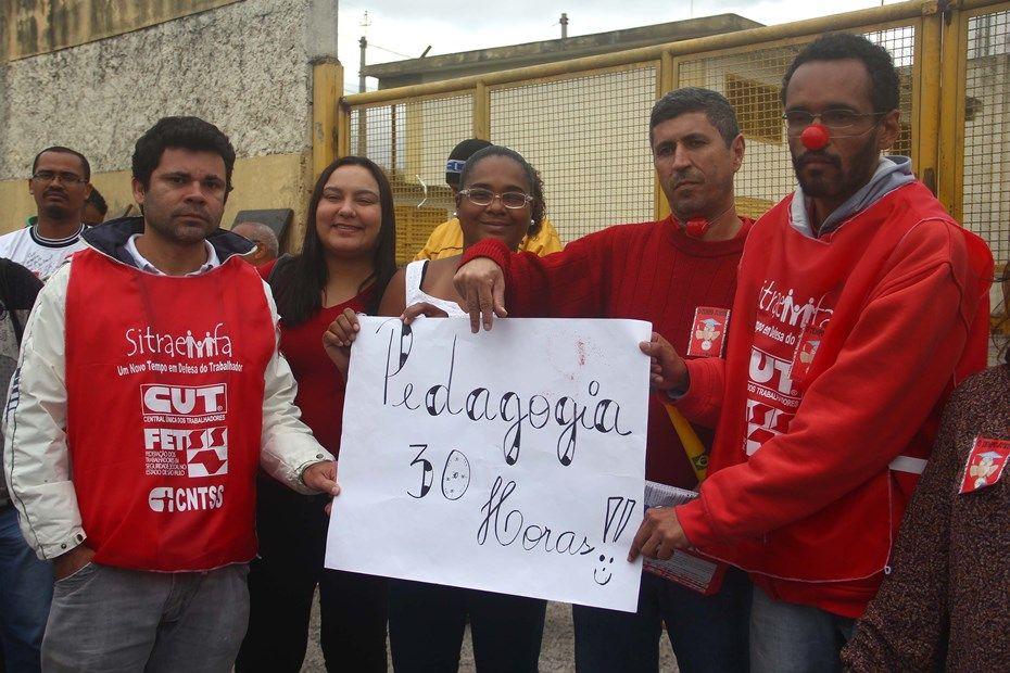 Funcionários da Fundação Casa permanecem em greve desde quinta-feira / Edno Luan/Futura Press/Folhapress
