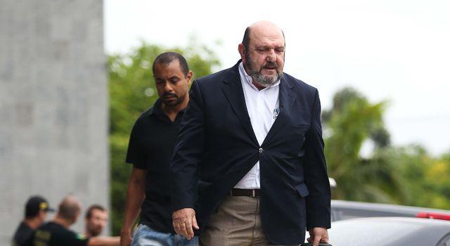 Ricardo Pessoa foi detido na Operação Lava Jato / Zanone Fraissat/Folhapress