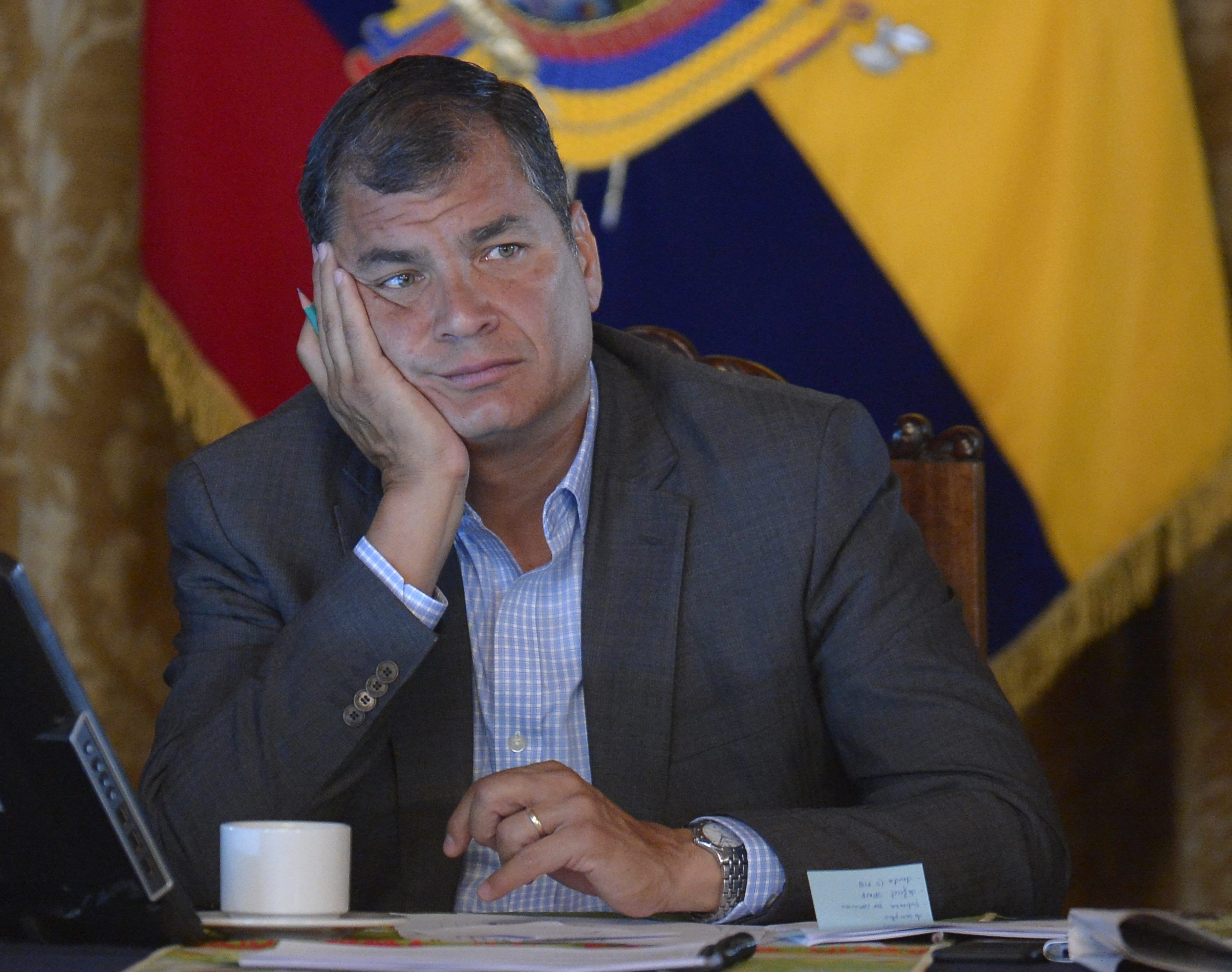Rafael Correa endossa campanha na internet que quer impedir produção de filme enviesado